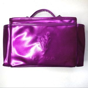 Younique presenter kit purple makeup bag